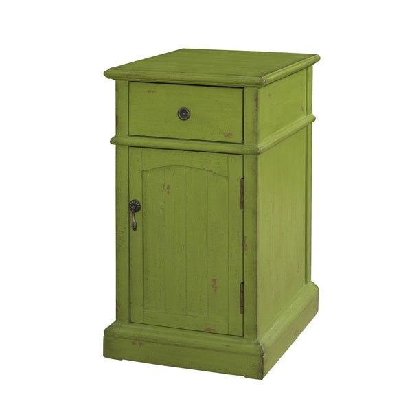 Powell Green Chairside Cabinet