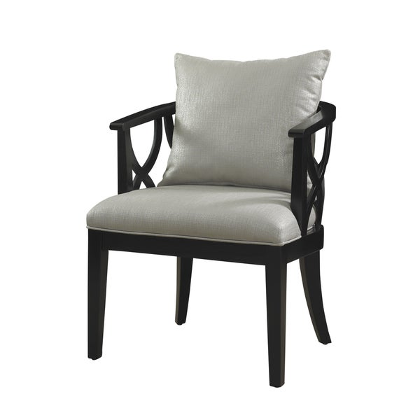 Powell Shimmer Black Chair