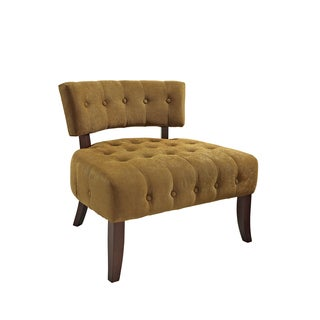 Powell Gold Lady Slipper Chair