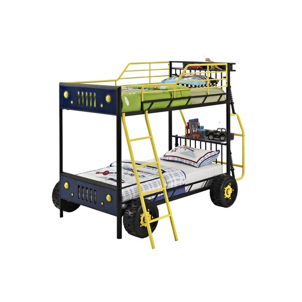 Powell Dune Buggy Twin Bunk Bed