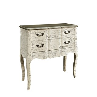 Powell 2-drawer Chest with Fabric