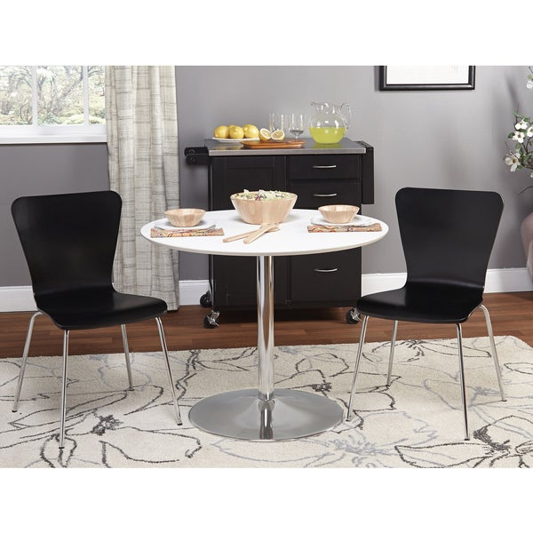 Simple Living 3 Piece Pisa Dining Set Overstock Shopping Big Discounts On Simple Living