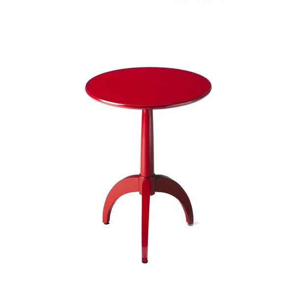 Fiery Tripod Side Table