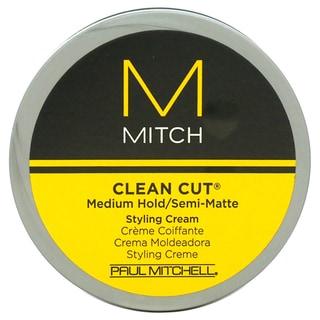 Paul Mitchell for Men Mitch Clean Cut Medium Hold/Semi-Matte Styling Cream
