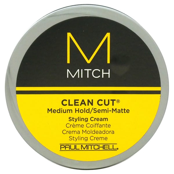 Paul Mitchell for Men Mitch Clean Cut Medium Hold/Semi-Matte Styling Cream