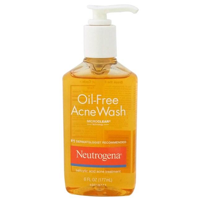 Neutrogena Oil-Free Acne Wash 6-ounce Treatment at Sears.com