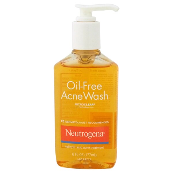Neutrogena Oil-Free Acne Wash 6-ounce Treatment