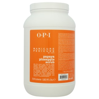 OPI Manicure Pedicure Papaya Pineapple Scrub 120-ounce Scrub