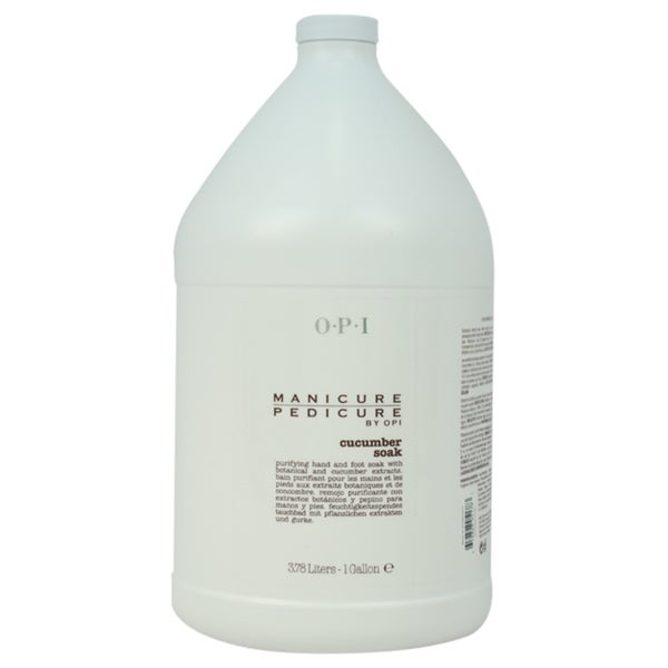OPI Manicure Pedicure Cucumber 1-gallon Bath Soak