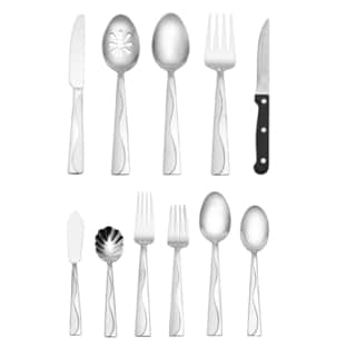 International Home Minaj Frost 80-piece Flatware Set