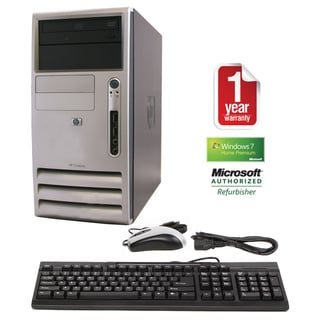 HP Compaq DX7300 Intel Core2Duo 2.4GHz 80GB MT Computer (Refurbished)