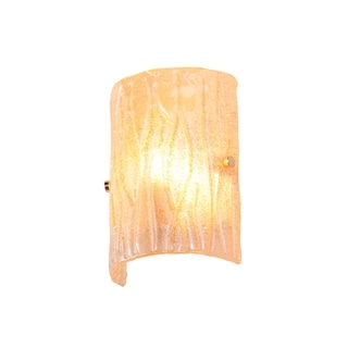 Alternating Current Brilliance 1-light Champagne Wall Sconce