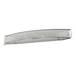 Alternating Current Array 6-light Polished Chrome Wall Sconce