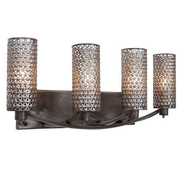 Varaluz Casablanca 4-light Steel Vanity 14008839