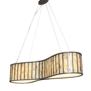 Varaluz Affinity 6-light New Bronze Linear Pendant