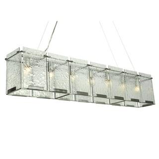 Varaluz Rain 7-light Linear Pendant