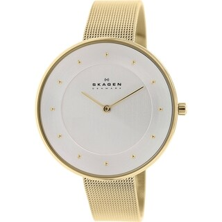 Skagen Women's SKW2141 Gitte Quartz Goldton Stainless Steel Watch
