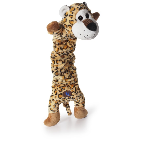 Charming Pet Products 24-inch Mumbo Jumbo Leopard Dog Toy