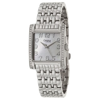 Caravelle by Bulova Women's Crystal 43L138 Stainless Steel Quartz Watch