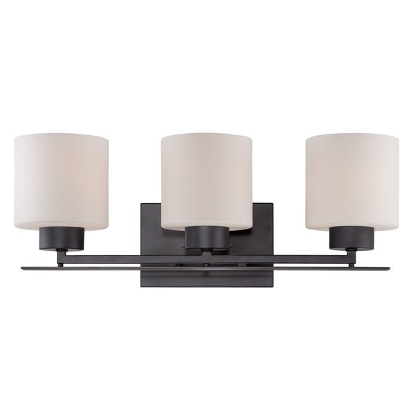 Nuvo Parallel 3-Light Vanity