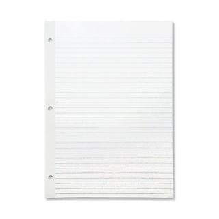 Sparco Mylar Reinforced Filler Ruled Paper (Pack of 100)