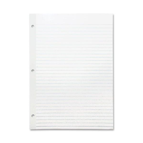 Sparco Mylar Reinforced Filler Ruled Paper (Pack of 100)