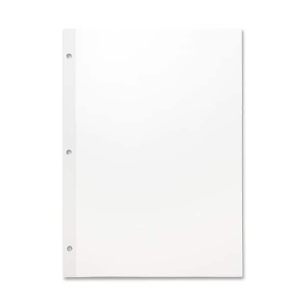 Sparco Mylar Reinforced Unruled Filler Paper (Pack of 100)