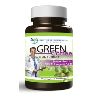 Doctor Recommended Green Coffee Bean Extract (60 Capsules