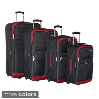 Dumont Select 4-piece Expandable Wheeled Luggage Set