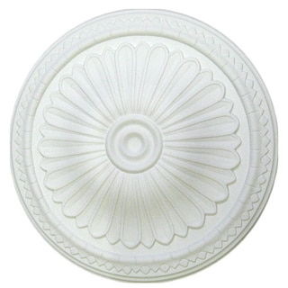 15-inch Round Ceiling Medallion with Rays
