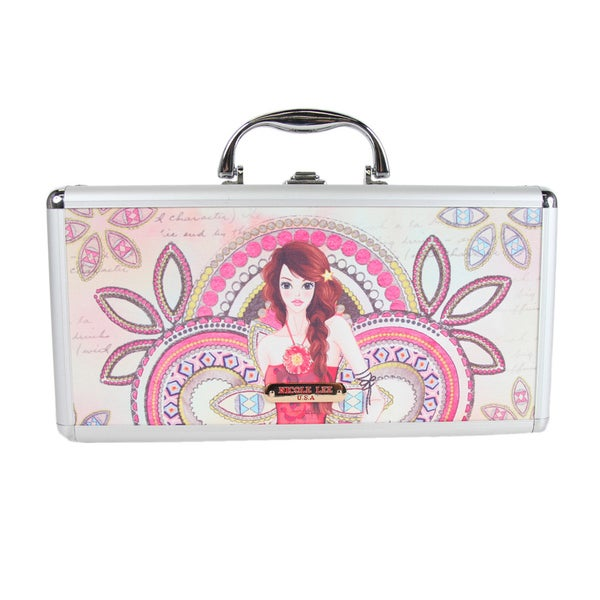 Nicole Lee Marina Print Travel Brush Case