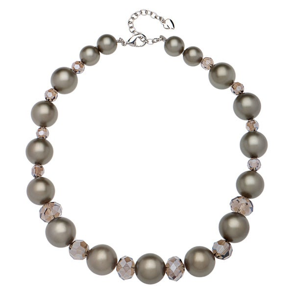 Carolee Twilight Glimmer Graduated Stone Necklace