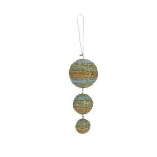 Dangling 3-ball Ornaments (Set of 6)
