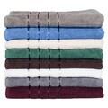 Lavish Home 100-percent Cotton 650 GSM 8-piece Towel Set