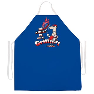 Attitude Aprons Married Me for Grillin Apron