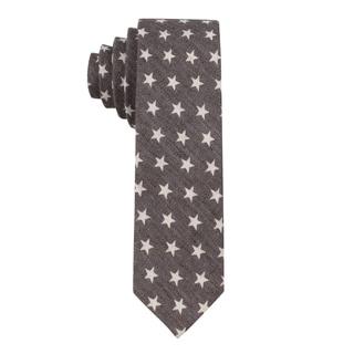 Skinny Tie Madness Men's 'Star Crossed' Star Print Skinny Tie