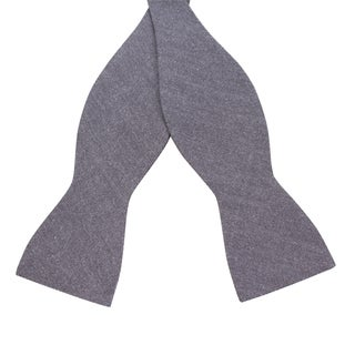 Skinny Tie Madness Men's 'Knowledge is Power' Chambray Bowtie