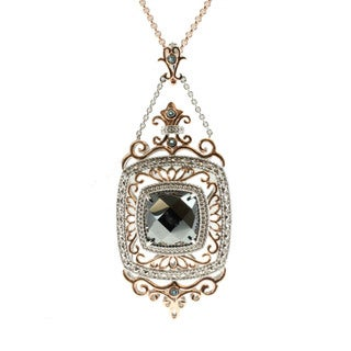 Dallas Prince Multi-gemstone Pendant Necklace