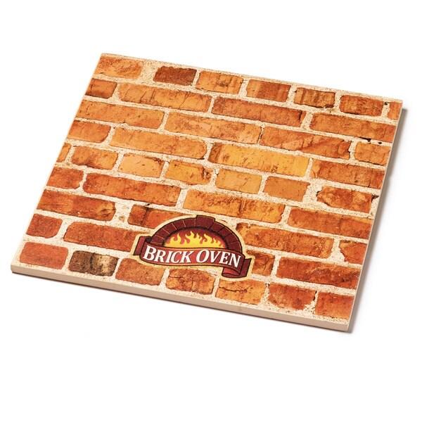 Brick Oven 12-inch Square Ceramic Pizza Stone