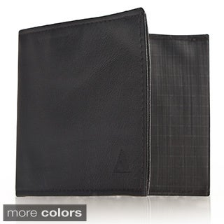 Allett Classic Leather and Nylon Sport Wallet