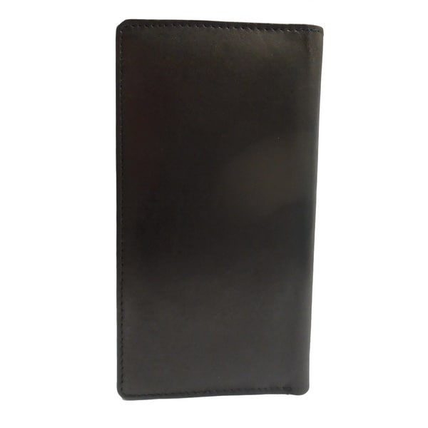 Tall Bifold Cowhide Wallet