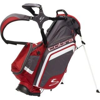 BIO Grey/ Red Stand Bag