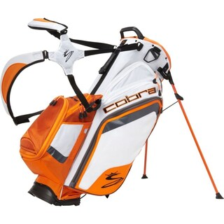 BIO White/ Orange Stand Bag