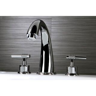Chrome Roman Tub Faucet Set
