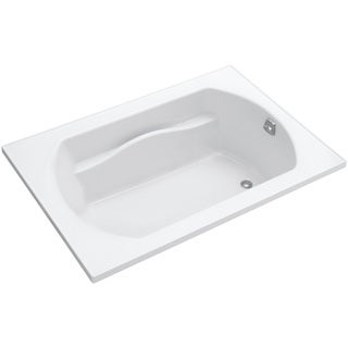 Lawson White 5-foot Right Drain Soaking Tub