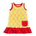Tumblewalla Golden Hex Organic Pocket Dress