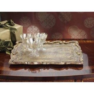 Zodax Milano Rectangular Serving Tray
