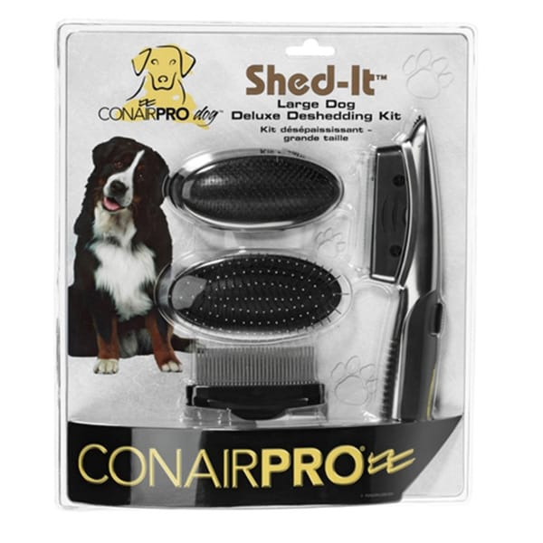 Conair Pet Shed it Deluxe Deshedding Pet Grooming Kit 14015481