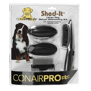 Conair Pet Shed it Deluxe Deshedding Pet Grooming Kit