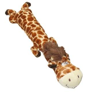 Multipet Dawdler Dudes 20-inch Giraffe Dog Toy